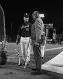 2000 campionati di baseball, Mike Piazza e LeRoy Neiman Immagine Stock Libera da Diritti