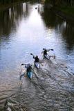 Campionati francesi 2012 di Flatwater del Canoa-Kajak Immagini Stock