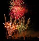 Campionati musicali britannici del fuoco d'artificio Immagini Stock