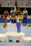 Campionati relativi alla ginnastica artistici europei 2009 Immagine Stock Libera da Diritti