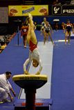 Campionati relativi alla ginnastica artistici europei 2009 Fotografia Stock
