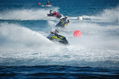 Campionato 2012 del mondo di Aquabike - runbout gp1 Fotografie Stock Libere da Diritti