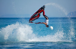 Campionato 2012Freestyle del mondo di Aquabike Fotografie Stock Libere da Diritti