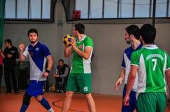 Campionato Adalia - Turchia di Korfball Fotografie Stock Libere da Diritti