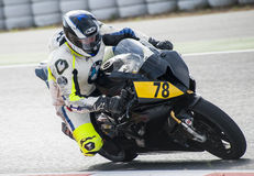 CAMPIONATO CATALANO DI MOTOCICLISMO - IKER CARRACEDO Immagini Stock Libere da Diritti