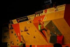Campionato ceco nel bouldering 2015 fotografia stock libera da diritti