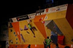Campionato ceco nel bouldering 2015 fotografie stock libere da diritti