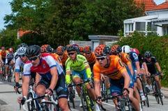 Campionato danese nella corsa della bici della strada fotografie stock libere da diritti