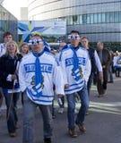 Campionato del mondo del hokey di ghiaccio 2012 Immagini Stock Libere da Diritti
