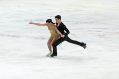 Campionato del mondo sulla figura pattinare 2011 Fotografia Stock Libera da Diritti