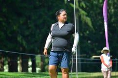 Campionato 2016 del PGA delle donne di Christina Kim KPMG del giocatore di golf professionale delle signore Fotografie Stock