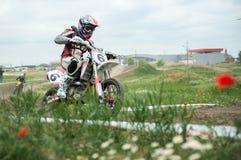 Campionato dell'Europa orientale 2013 di Supermoto Immagini Stock