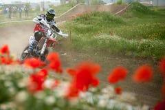 Campionato dell'Europa orientale 2013 di Supermoto Immagini Stock Libere da Diritti