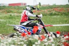 Campionato dell'Europa orientale 2013 di Supermoto Fotografie Stock