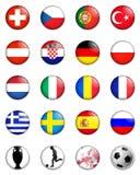 Campionato dell'europeo dell'euro 2008 Fotografia Stock Libera da Diritti