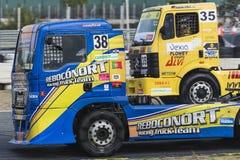 Campionato di corsa del camion di 2014 europei Immagini Stock Libere da Diritti