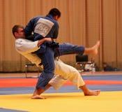 Campionato di judo Fotografia Stock