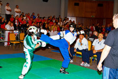 campionato 2011 di kickboxing del terzo mondo Fotografia Stock Libera da Diritti
