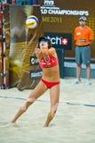 2011 campionato di mondo di beach volley - Roma, Italia Fotografia Stock Libera da Diritti