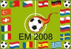 Campionato europeo 2008 Fotografie Stock