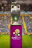 Campionato europeo 2012 di gioco del calcio della tazza Immagini Stock