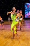 Campionato europeo WADF di ballo artistico Fotografia Stock