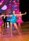 Campionato europeo WADF di ballo artistico Fotografie Stock Libere da Diritti