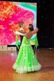 Campionato europeo WADF di ballo artistico Immagine Stock