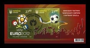 Campionato finale dell'EURO 2012 a Kiev, Ucraina, circa 2012, Immagine Stock Libera da Diritti