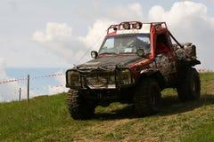 Campionato fuori strada del camion, Aluksne, Lettonia, il 10 maggio 2008 Fotografia Stock Libera da Diritti
