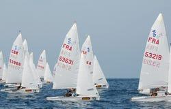 Campionato internazionale 2010 di parola dell'yacht 420 Immagini Stock Libere da Diritti