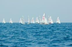 Campionato internazionale 2010 di parola dell'yacht 420 Immagini Stock
