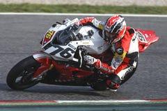 Campionato Mediterraneo di motociclismo fotografie stock