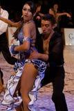 Campionato nazionale di ballo di sala da ballo Immagine Stock Libera da Diritti