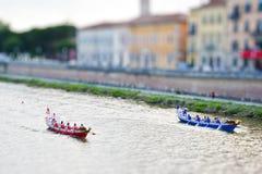 Campionato storico della miniatura di regata Fotografia Stock