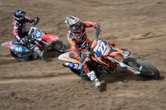 Campionato WMX del mondo di motocross della FIM Senkvice 2011 Fotografia Stock Libera da Diritti