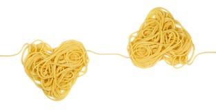 Campione del cuore della pasta per il ciclo dell'ornamento Fotografie Stock