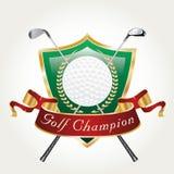 Campione del giocatore di golf Fotografie Stock Libere da Diritti