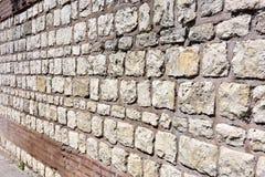 Campione del modello della superficie della parete di pietra Fotografia Stock