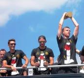 Campione del mondo a Berlino Immagine Stock Libera da Diritti
