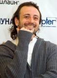 Campione del mondo nella la figura pattinare Ilya Averbuh fotografia stock libera da diritti