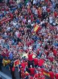 Campione dell'europeo della Spagna Fotografia Stock