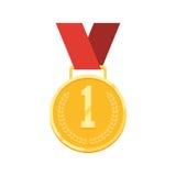 Campione della medaglia d'oro royalty illustrazione gratis