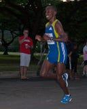 Campione di maratona di Honolulu Immagini Stock Libere da Diritti
