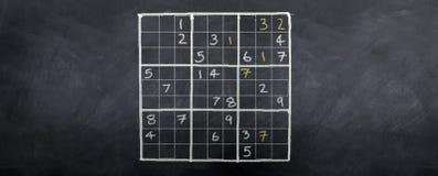 Campione di Sudoku Immagini Stock