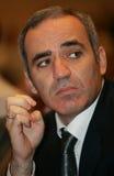 Campione Garry Kasparov di scacchi Fotografia Stock Libera da Diritti