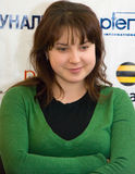 Campione Irina Slutskay del mondo Fotografie Stock Libere da Diritti