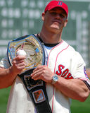 Campione John Cena di WWE Fotografia Stock Libera da Diritti