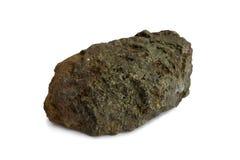 Campione naturale di minerale metallifero polimetallico Immagini Stock Libere da Diritti