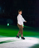 Campione olimpico nella la figura pattinare Alexei Yagudin. Fotografie Stock Libere da Diritti